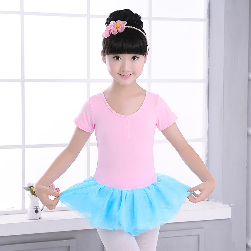 Girls Miltcolor Ballet Tutu Skirt Dress Kids Black Ballet Dancewear Dresses Dance Tutu Dress Leotard Ballerina Clothes Children