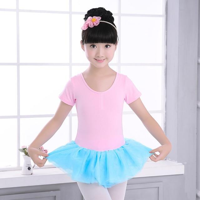 b07d9831a Girls Miltcolor Ballet Tutu Skirt Dress Kids Black Ballet Dancewear ...