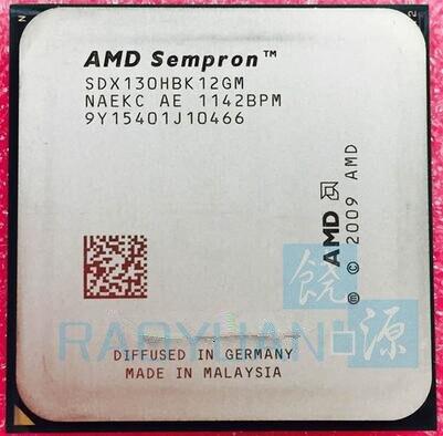 AMD Sempron 130 2.6G Single-Core CPU Processor X130 SDX130HBK12GM / SDX130HBK12GM Socket AM3