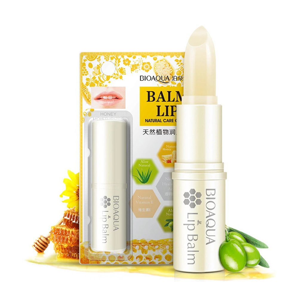 Botanical Essence Lip Balm Moisturizing Colorless Desalination Lips Prevent Chapped Waterproof Anti-dry Lip Gloss Dropship TSLM1