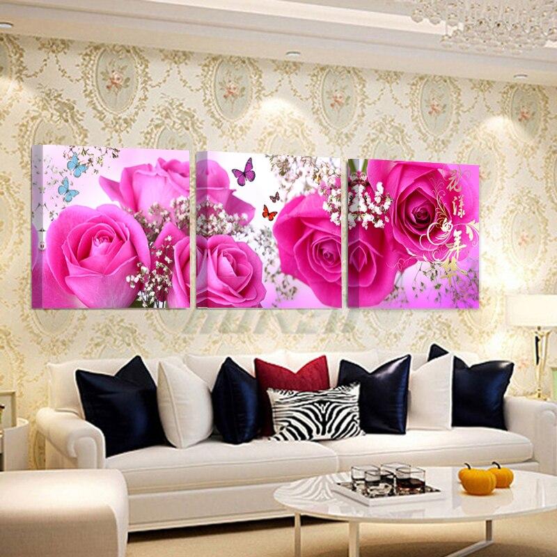 no frames) bilder canvas wall pictures living room oil modular ...