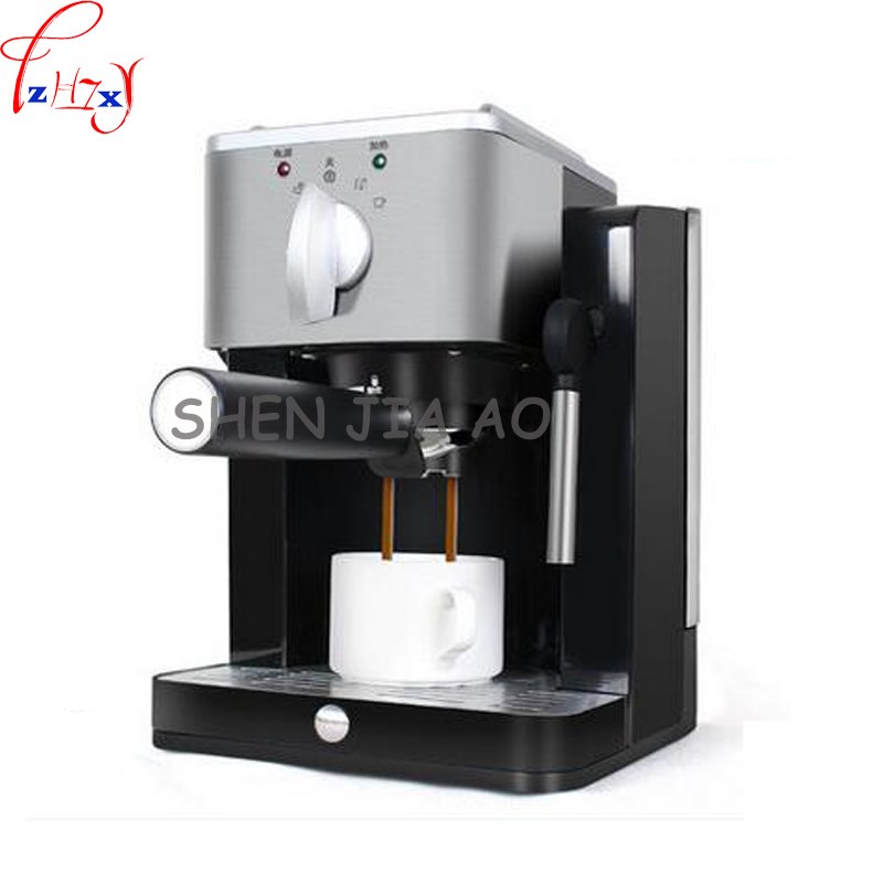 home semi-automatic coffee machine pump-type high - pressure Italian coffee machine 220V 850W 1pc 1pc 220v business home automatic italian coffee machine 1 2l coffee machine intelligent stainless steel italian coffee machine