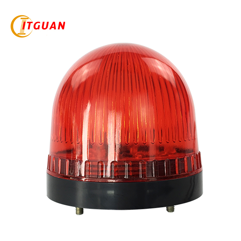 цены LTE-5062 mini warning light mini led 1w warning light with bolt bottom signal light tower warning light car beacon