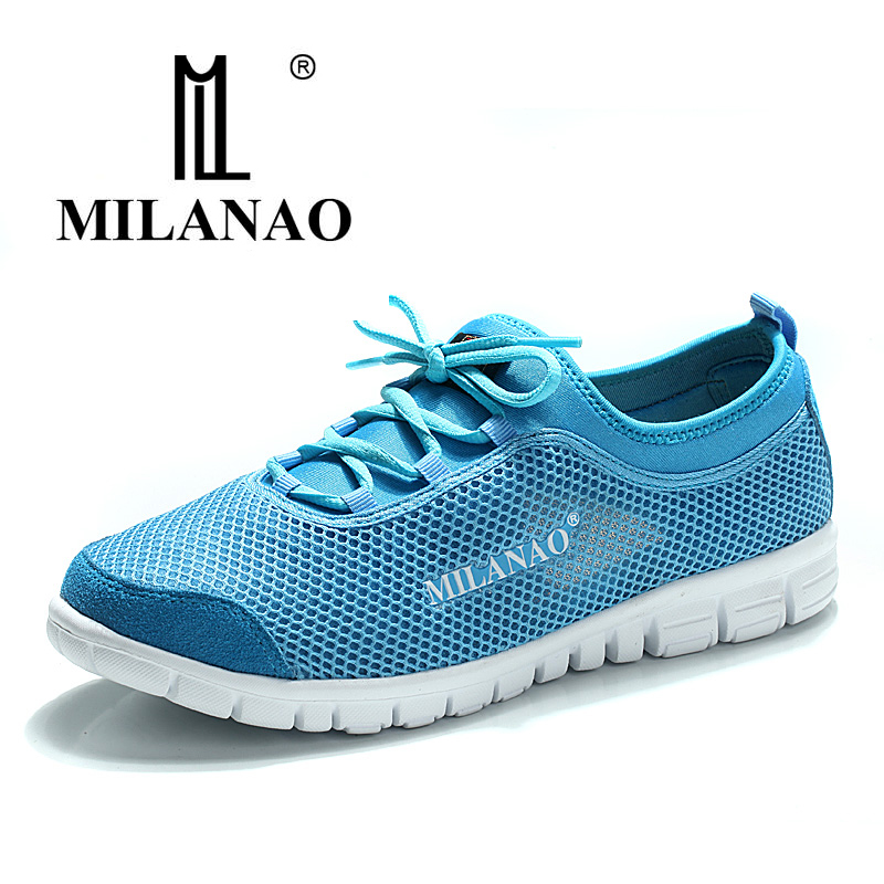 milanao 2016 breathable running shoes light sneakers