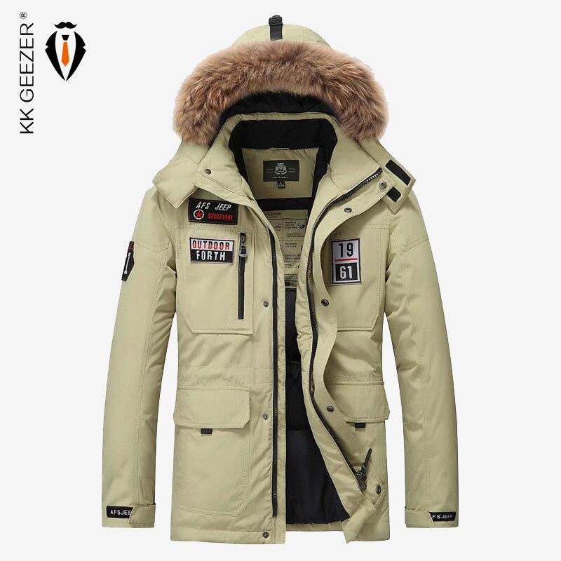men winter jacket thick warm coats brand waterproof casual. Black Bedroom Furniture Sets. Home Design Ideas