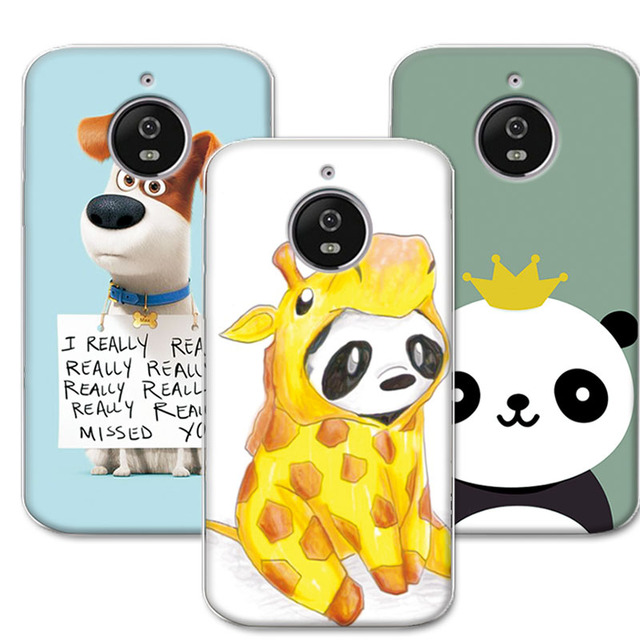 online retailer d880f 301e2 US $1.42 |Painted Dog Cat Bear Cases For Moto E4 Plus Back Cover Soft  Silicone TPU funda For Motorola Moto E4 Plus 5.5 inch E4Plus Case-in Fitted  ...