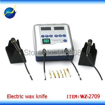 Laipinge sisend ja kiire soojendus Dental Labi digitaalne elektriline vaha nikerdusnuga 2 pliiatsi ja 6 näpunäitega