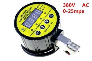 AC 380V 0-25Mpa Air Compressor Pressure Switch Digital Pressure Gauge Relay output