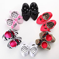 2016 de La Moda de Diseño Zapatos de Bebé Zapatos de los Altos Talones de La Foto Del Bebé de La Mariposa-nudo Estilo de La Princesa Para 0-2 años de Zapato de Bebé