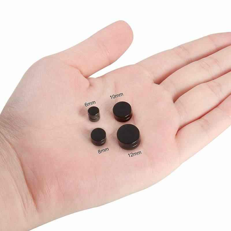 1pc 魔法の強力なマグネットイヤリング耳メンズアクセサリージュエリーファッション無痛イヤリングボーイフレンド耳穴なし