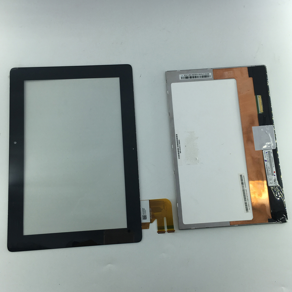 LCD Display Panel Screen Monitor Touch Screen Digitizer Glass Assembly For ASUS TF300 TF300TG TF300T TF300TL 69.10I21.G01 new 13 3 touch glass digitizer panel lcd screen display assembly with bezel for asus q304 q304uj q304ua series q304ua bhi5t11