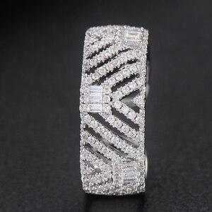Image 5 - GODKI Luxury Trendy Saudi Arabia Bangle Ring Set Jewelry Sets For Women Wedding Engagement brincos para as mulheres 2019