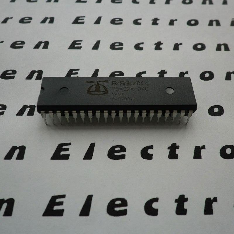 1 pcs x P8X32A D40 32 bit Microcontrollers   MCU DIP 40 package Propeller Chip P8X32A D40microcontroler chipp p  -