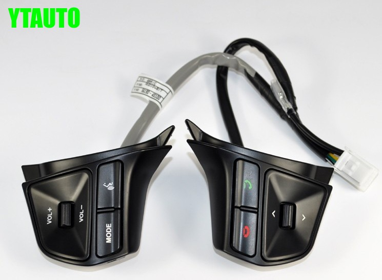 все цены на Original multifunctional steering wheel control button, Audio channel control button for KIA RIO k2 2012-2014,car accessories