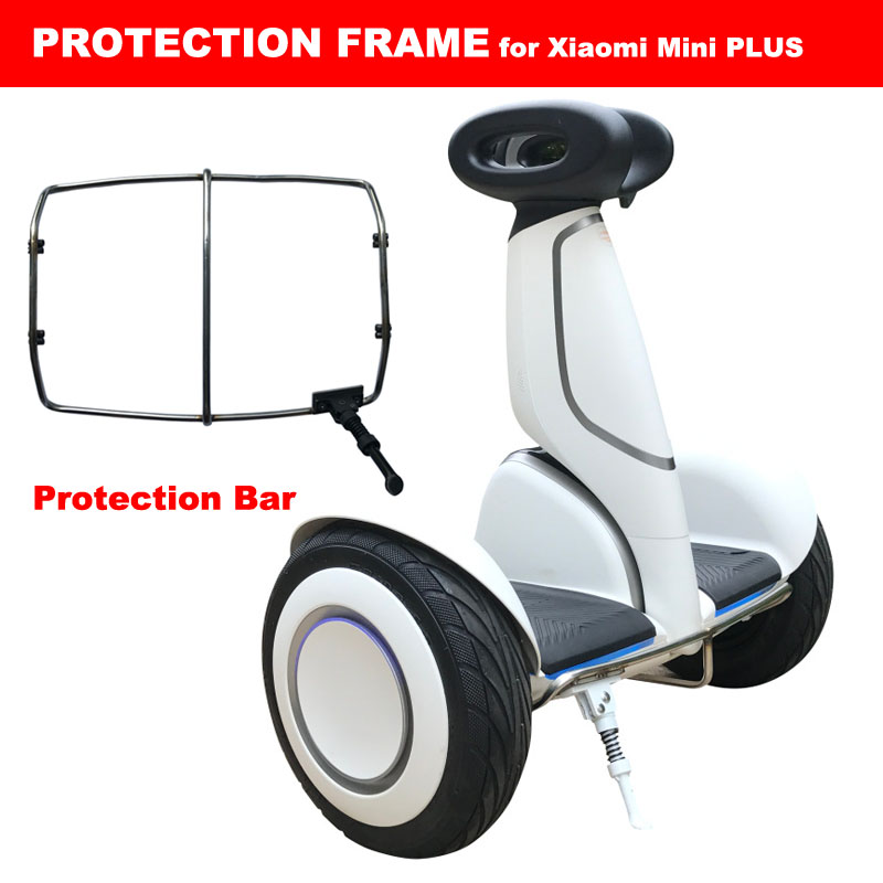 font b Xiaomi b font Mini PLUS scooter Protection Bar Protective Frame Parking Stand Front
