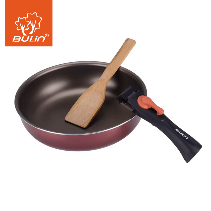 Outdoor Cookware Camping Pot Fry Pan Cookware Picnic Cook set Backpacking Hiking Cooking Pan Pot Set in Outdoor Tablewares from Sports Entertainment