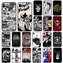 Punk Rock Soft Case for Xiaomi Redmi