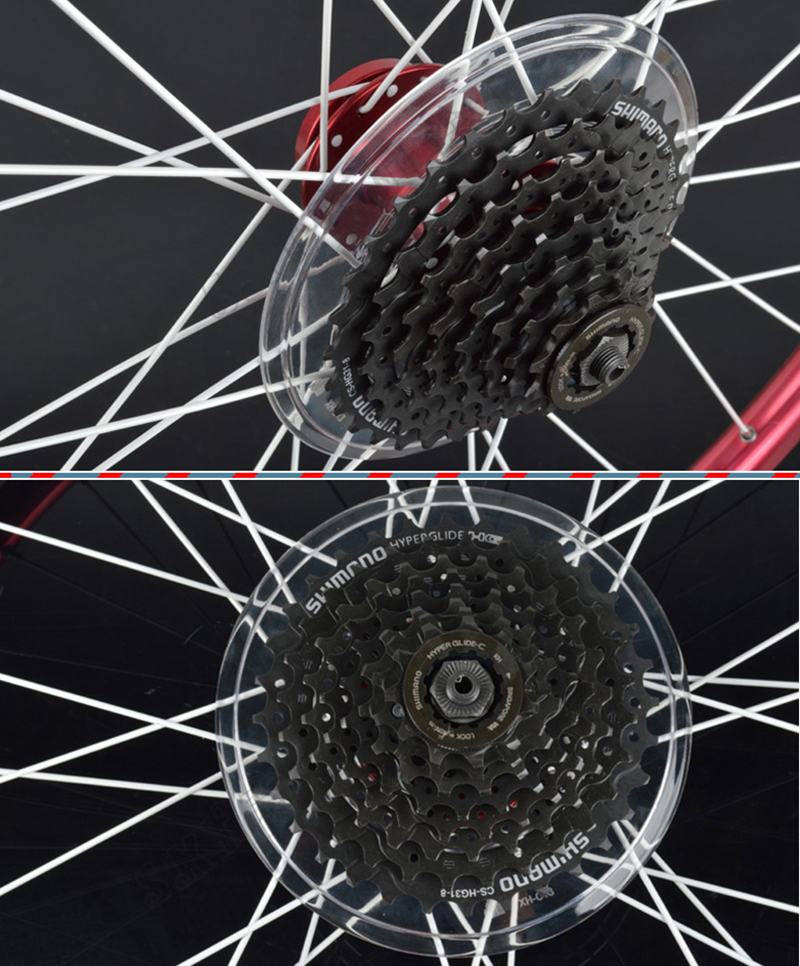 1pc Mountain Bike Flywheel Support Disc Brake Cassette Hubs Protection Cover SI