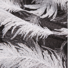 cord fabric Feather White