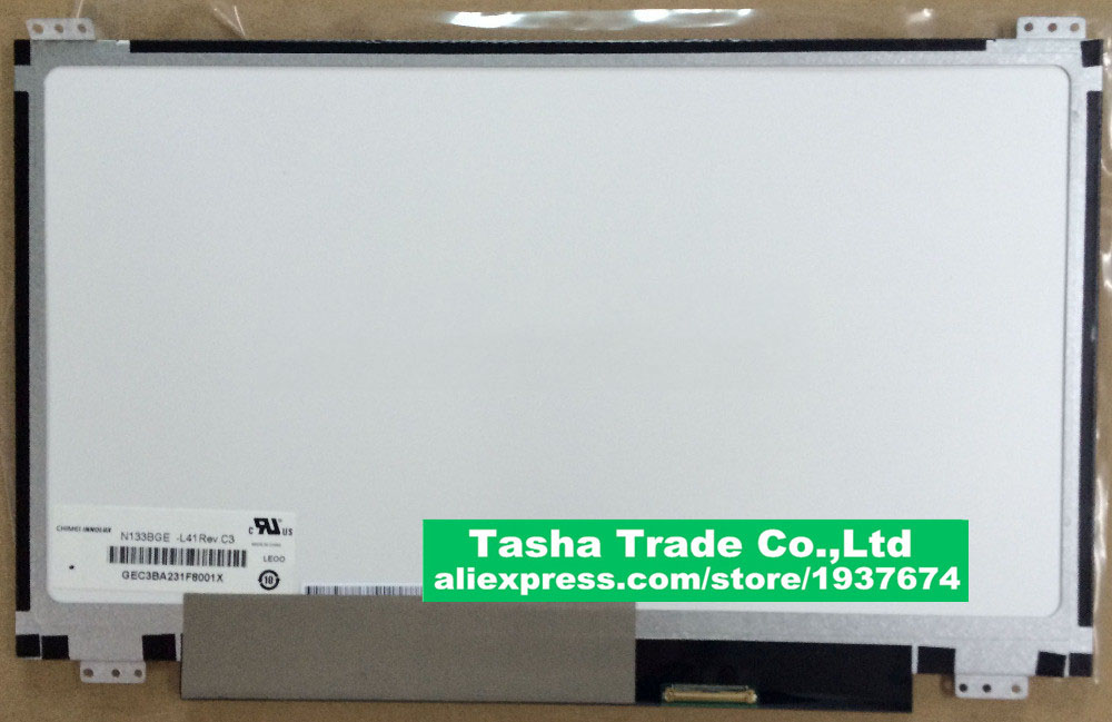 цена  N133BGE-L41 Rev.C3 LCD Screen Display 1366*768 UP&DOWN Screw Holes New Original Good Quality  онлайн в 2017 году