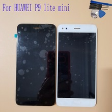 5.0 For HUAWEI P9 lite mini LCD Display Touch Screen Digitizer Assembly With Frame Huawei