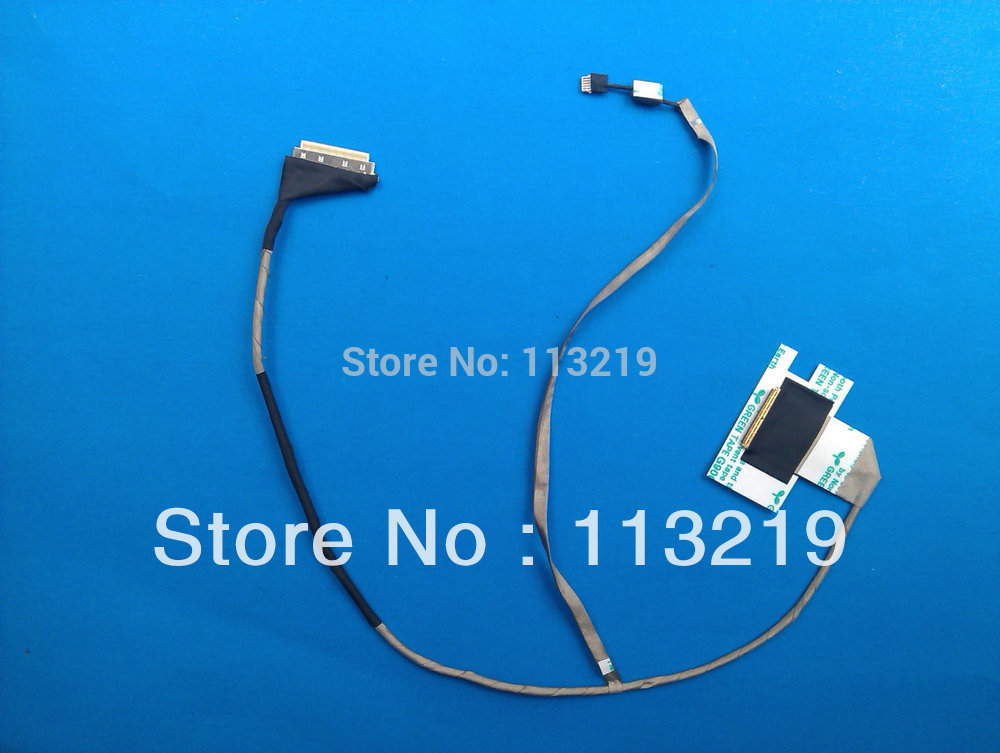Connectors LED LCD Cable for Acer E1 E1-521 E1-531 E1-571 V3-571 Gateway NV53 NV55 NV56 Cable DC02001FO10 Cable Length: Other