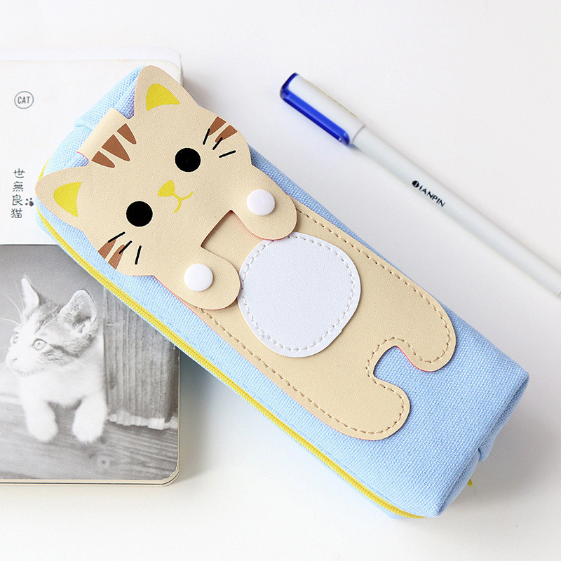 NIBESSER Multifunctional Travel Bag Cute Korean Cats Pen Pencil Bags For Girl Kids Student Gift Pouch Kawaii Travel Accessories ...