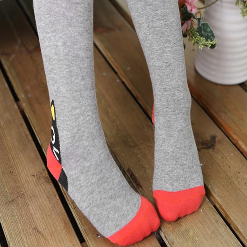 Children Kids Girls Boys Baby Cat Cartoon Pantyhose Tights Socks Stockings S M L