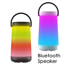 2018 Reading Story Portable Bluetooth Speaker Touch Control USB LED Bed Baby Night Light Wireless Radio FM TF Music Speakers