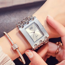 G&D Fashion Casual Women Watch 2018 Silver Women's Quartz Wristwatches Luxury la