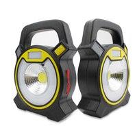 1 Pcs Portable Lamp COB LED Rechargeable USB Charging Portable Spotlight Hand Lamp Hiking Camping Tent