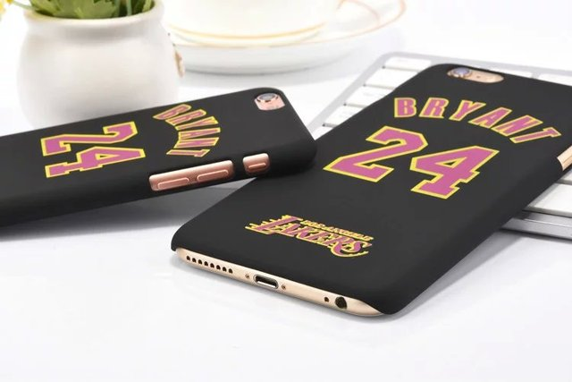 NEW ARRIVAL! L.A Lakers NO.24 Kobe Bryant Basketball PC Cover Case For iPhone 6 6s 6 plus 6s plus Jumpman Sports Phone Cases