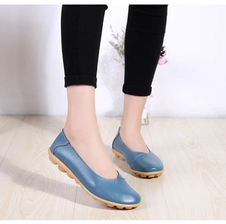 AH 5928-2019 Spring Autumn Woman Flats Casual Women Loafers-8
