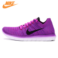 NIKE Free Flyknit Barefoot Women S Light Comfortable Running Shoes Sneakers Trainers