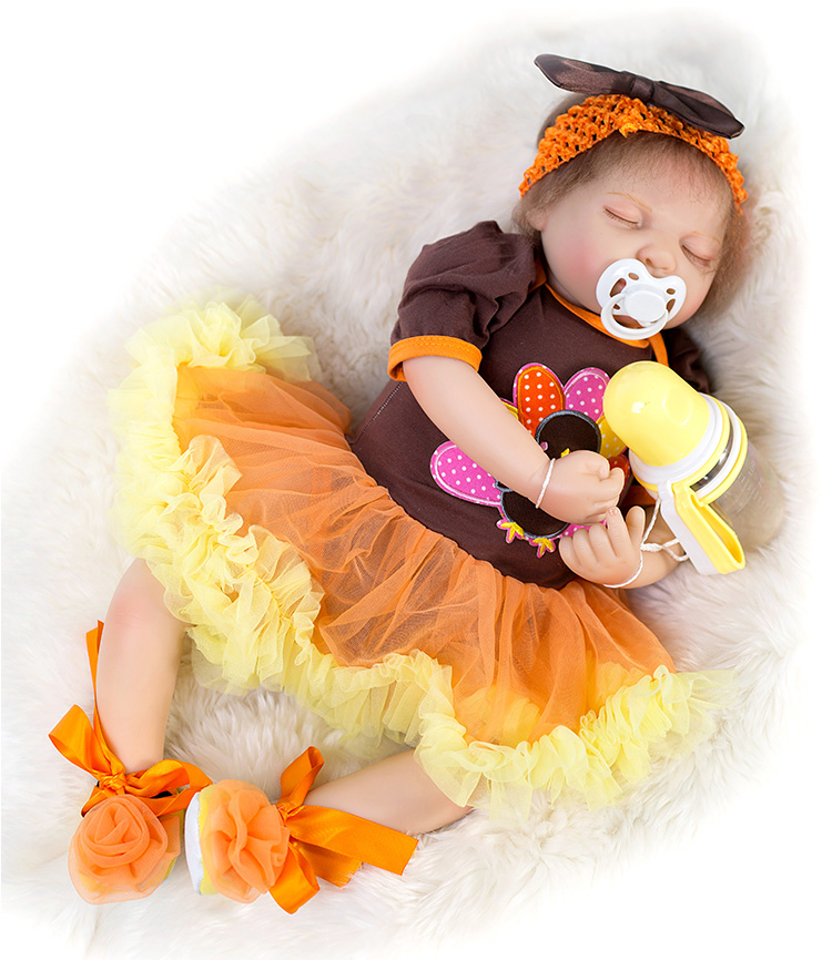 2254cm Soft Silicone Reborn baby doll Toys high quality doll Handmade can sit and lie bottle+pacifier gifts dolls collection2254cm Soft Silicone Reborn baby doll Toys high quality doll Handmade can sit and lie bottle+pacifier gifts dolls collection