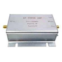 1-1000Mhz 2.5W Rf Power Amplifier For Hf Fm Transmitter Vhf Uhf Rf Ham Radio 1m 1200mhz 2w hf fm vhf uhf broadband rf power amplifier