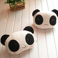 Hot Sale 2Pcs Cartoon Car Neck Pillow Headrest Support Cushion Plush Panda Massager Covers Auto Styling Interior Decoration