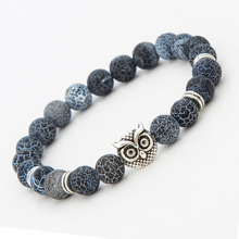 2016 Fashion Lucky Charm Bracelets Stone Beads For Men Bracelets Jewelry Women Fashion Accessories(China (Mainland))