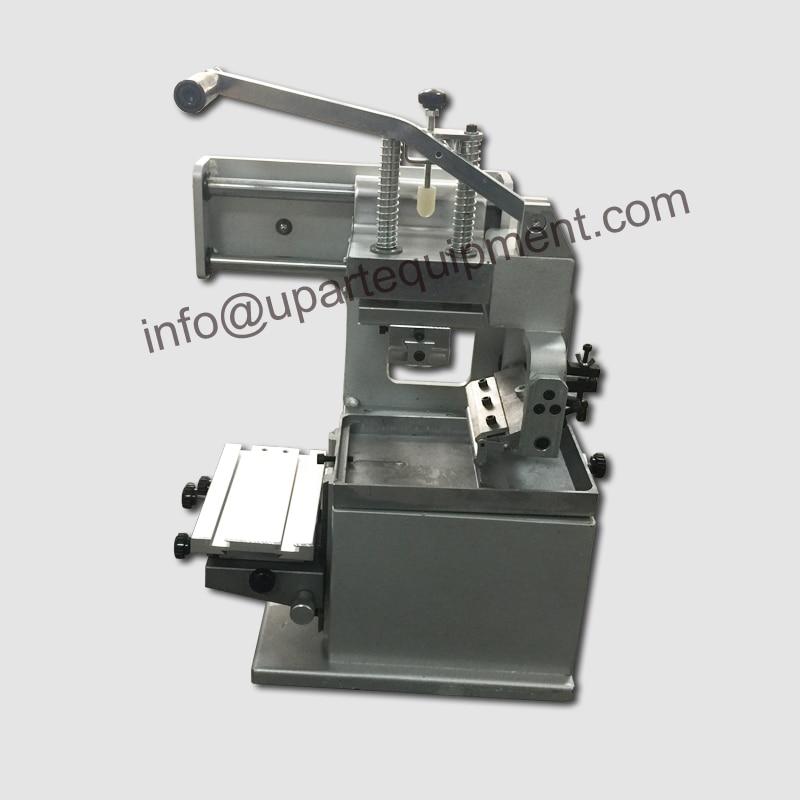 second hand protable hand operation pad printer machine,open