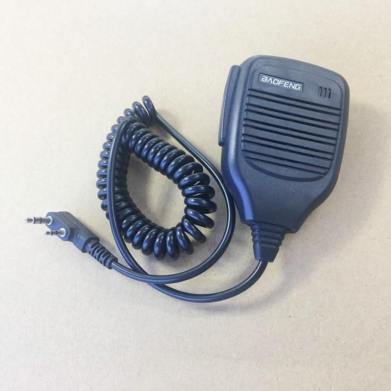 Microphone Handfree K Plug For Kenwood Baofeng BF888S/UV5R/UV82,Quansheng,Wouxun,PUXING PX777,PX888,TYT Etc Walkie Talkie