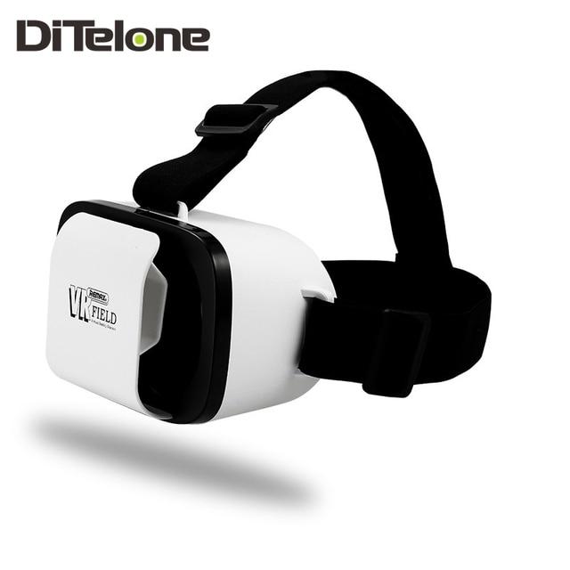 "REMAX Field VR 3D Glasses Virtual Reality 3D Glasses Aspheric Optical Lens For 4.7-6.0"" Phone Magic Mirror Gamepad TV Box PC"
