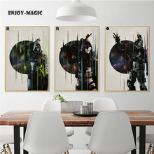 Home Decor Canvas Poster breath of the wild Painting Living Room Wall Art Modern 5 Piece Oil Painting Picture Panel Print B-051