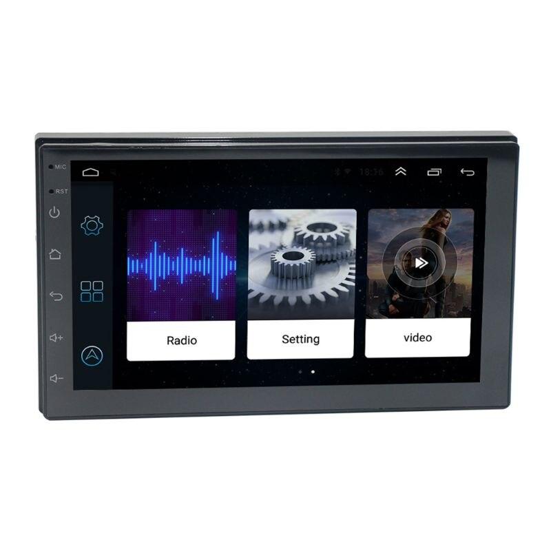1 Set nouveau universel 7 pouces écran tactile autoradio multimédia vidéo MP5 lecteur Bluetooth GPS carte navigateur Auto stéréo dispositif