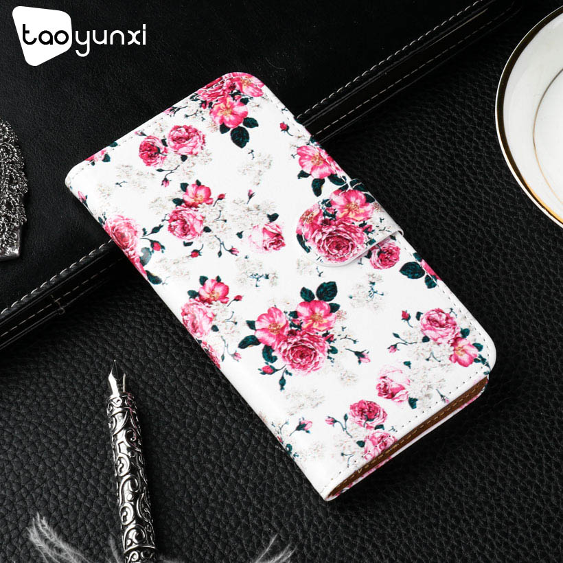 TAOYUNXI PU Leather Case For Alcatel A3 5046 Cases Phone Cover A 3 5046D 5046X 5046Y Flip Wallet With Card Holster Shell