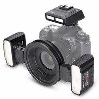 Майке MK MT24 Macro twin Lite вспышки для Nikon D750 D800 D810 D7200 D610 цифровых зеркальных камер