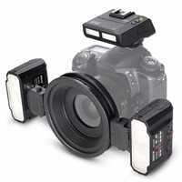 Meike MK MT24 Macro Twin Lite Flash for Nikon D750 D800 D810 D7200 D610 Digital SLR Cameras