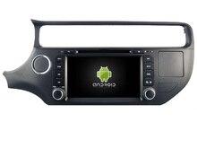 Android 7.1 CAR DVD player FOR KIA RIO 2015 car audio gps stereo head unit Multimedia navigation WIFI SWC BT