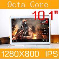 DHL Frete grátis 10.1 polegada tablet pc android 5.1 octa núcleo CARNEIRO 4 GB ROM 64 GB 3G 4G Phone call 8 core 1280*800 Comprimidos Crianças MID