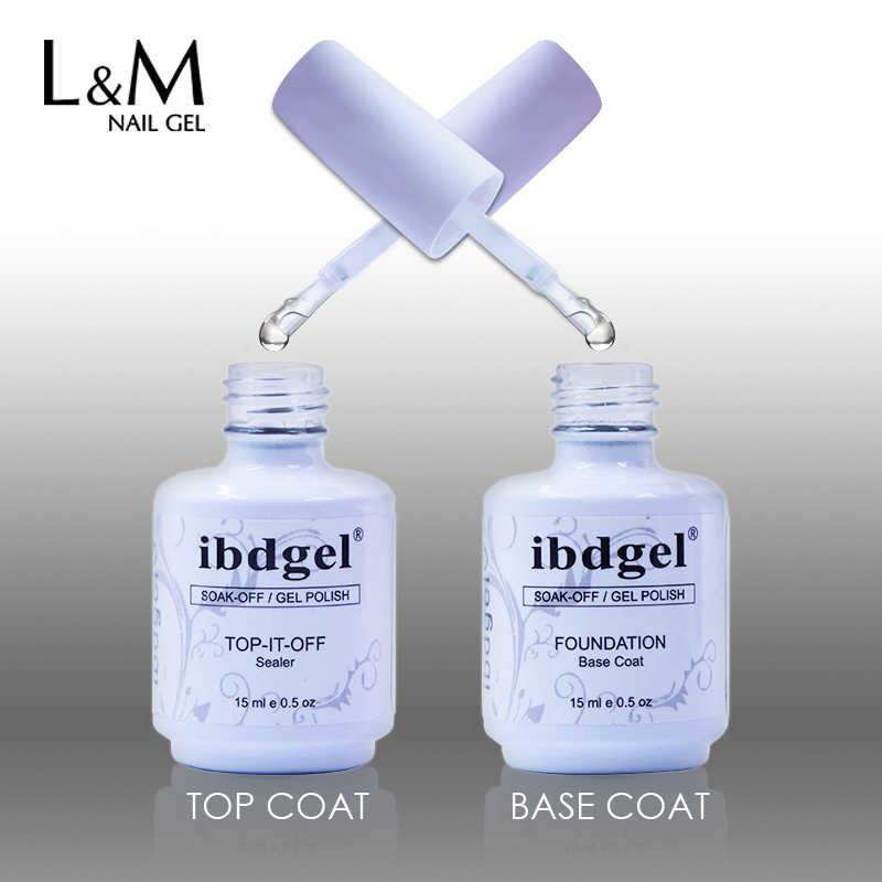 12 Pcs Gratis Pengiriman Gel Primer UV Nail Gel Top Coat Top It Off + Base Coat Foundation Uv Gel bahasa Polandia Terbaik (10 Warna + 1top + 1 Base)
