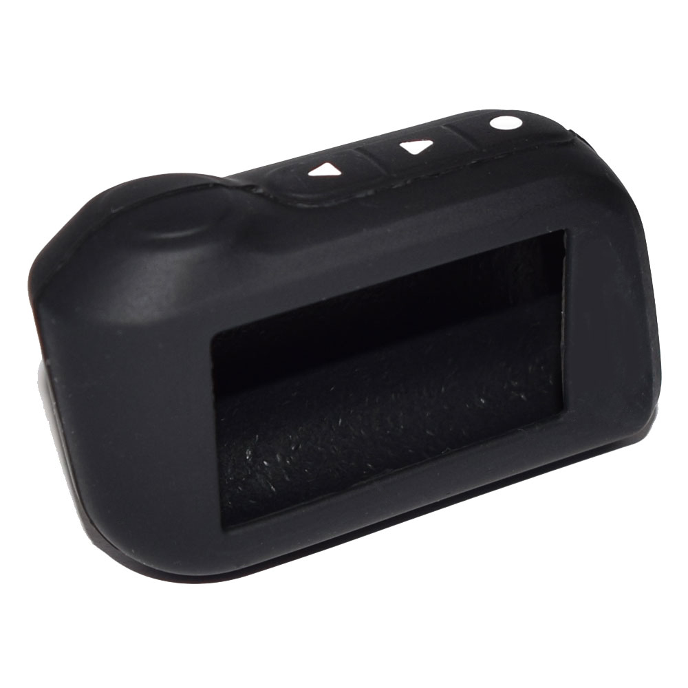 Starlionr Black Color Original A93 Silicone Case for Starline Russian Two Way Car Alarm A93 A63